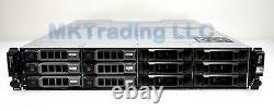12TB Dell PowerVault MD1200 6x Dell 2TB NL-SAS, 2x600W PSU, 2x EMM Controller
