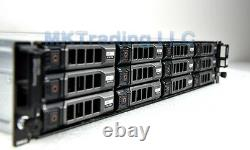 24TB Dell PowerVault MD1200 12x Dell 2TB NL-SAS, 2x600W PSU, 2x EMM Controller