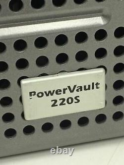 DELL POWERVAULT 220S Network Storage Drive Array with2x Ultra SCSI 320/11xCaddies