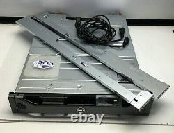 DELL POWERVAULT MD3600F 0U648K 0NFCG1 0NY7TM 06J2F2 2x-600W PSU STORAGE ARRAY