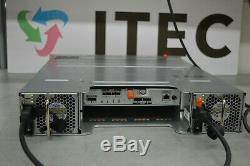 DELL PowerVault MD3200 SAN Storage Array 1x Controller N98MP 2PSU