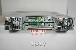 DELL PowerVault MD3220i SAN Storage Array 24x1.2TB SAS 10K 2x iSCSI 0770D8 2PSU
