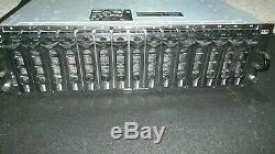 Dell AMP01 PowerVault MD3000 Storage Disk Array 2x RSIM 2x Power +Bezel Keys