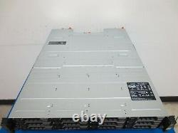 Dell MD1200 PowerVault 12-Slot Storage Array 7x 4TB NO POWER SUPPLY