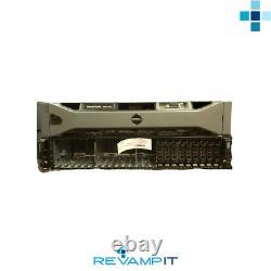 Dell MD1220 PowerVault Array, Dual 6GB SAS-CMs, x24 Dell 1.2TB 10K SAS