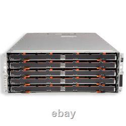 Dell MD3060e PowerVault Storage Array 60x 12TB 7.2K NL Redundant EMMs