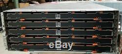 Dell MD3460 PowerVault Storage Array with 24 x 4TB 3.5 7.2K 12Gb/s NL SAS / 96TB