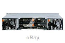 Dell MD3820F PowerVault 24X2.5'' 2U FC Storage Array