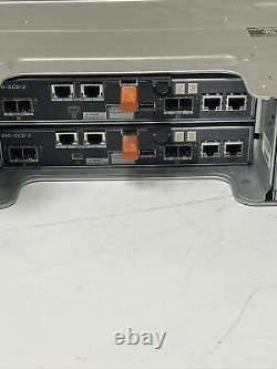 Dell MD3820i PowerVault Storage Array 212x 1.2TB 10K Dual 10Gb iSCSI 8GB Ctrl