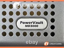 Dell Md3000 Powervault Storage Array 12 X 2tb Sas 2 X Emm