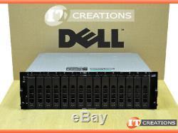 Dell Md3000 Powervault Storage Array 5 X 2tb Sas 2 X Emm