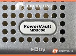 Dell Md3000 Powervault Storage Array 6 X 146gb 15k 2 X Emm