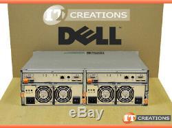 Dell Md3000 Powervault Storage Array 8 X 1tb Sas 2 X Emm