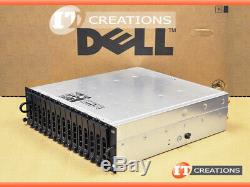 Dell Md3000i Powervault Iscsi Storage Array 10 X 500gb