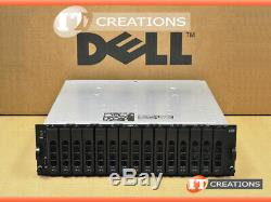 Dell Md3000i Powervault Iscsi Storage Array 2 X 300gb 15k