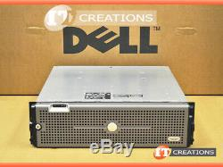 Dell Md3000i Powervault Iscsi Storage Array 2 X 500gb