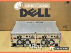 Dell Md3000i Powervault Iscsi Storage Array 2 X 600gb 15k