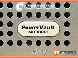 Dell Md3000i Powervault Iscsi Storage Array 5 X 300gb 15k