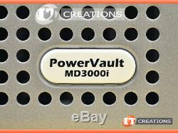 Dell Md3000i Powervault Iscsi Storage Array 7 X 450gb 15k
