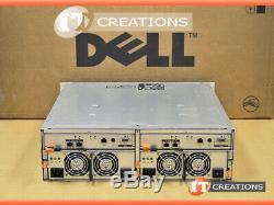 Dell Md3000i Powervault Iscsi Storage Array 9 X 300gb 15k