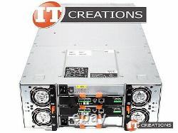 Dell Md3060e Powervault Storage Array 2 X 4tb Sas 2 X Emm