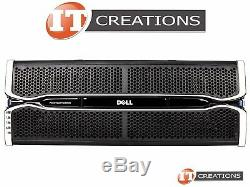 Dell Md3060e Powervault Storage Array 30 X 4tb Sas 2 X Emm