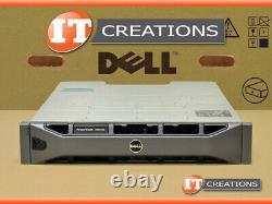 Dell Md3200 Powervault Sas Storage Array 4 X 600gb 15k 1 X Emm