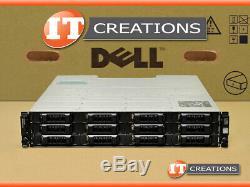 Dell Md3200 Powervault Sas Storage Array 5 X 2tb Sas 1 X Emm