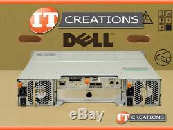 Dell Md3200 Powervault Sas Storage Array 7 X 1tb Sas 1 X Emm