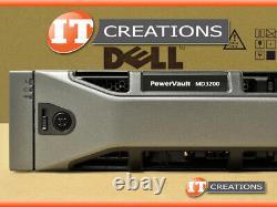 Dell Md3200 Powervault Sas Storage Array 8 X 300gb 15k 1 X Emm