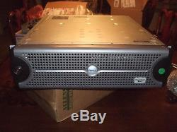 Dell PowerVault 220S 14 Bay Storage Array Dual PSU NO HDDs AMP01-Cover -no keys