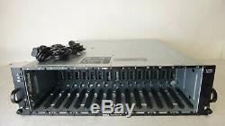 Dell PowerVault MD1000 15-Bay SAS/SATA Storage Array Dual Controllers & PSU