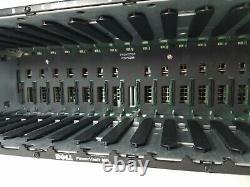 Dell PowerVault MD1000 15-Bay Storage Array 2x JT517 Management Module 2x PS