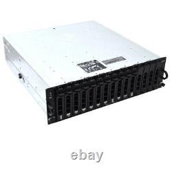 Dell PowerVault MD1000 AMP01 15-Bay SCSI Storage Array 2x AMP01-SIM No HDD