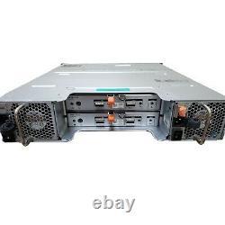Dell PowerVault MD1200 12-Bay Storage Array/ 2XController 3DJRJ / 12X 3.5 TRAYS