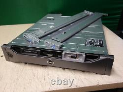 Dell PowerVault MD1200 12-Bay Storage Array 6x 4TB SAS 2x Controllers