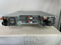 Dell PowerVault MD1200 12-Bay Storage Array with124TB SAS + 2MD12 SAS Controller