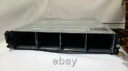 Dell PowerVault MD1200 12-Bay Storage Array with 2xMD12 SAS Controller see