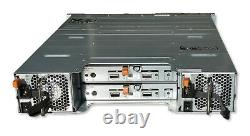 Dell PowerVault MD1200 12x 3.5 Array with 2MD12 SAS Ctrl & Railkit no trays
