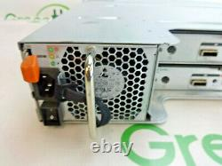 Dell PowerVault MD1200 24-Bay 2.5 SFF SAS Storage Array 2x Controllers 2x PSU