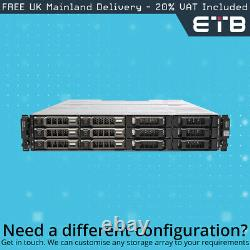 Dell PowerVault MD1200 6 x 3TB SAS, Dell Enterprise Class Hard Drives, Rails