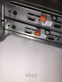 Dell PowerVault MD1200 MD12Series 6Gb SAS 12 slots SAS 6GB 2TB 7.2k No Working