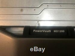 Dell PowerVault MD1200 Raid Controller Storage Array 0U648K E03J NO Drives look