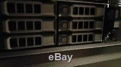 Dell PowerVault MD1200 Storage Array Dual Controller Dual PSU 12x caddies &Bezel