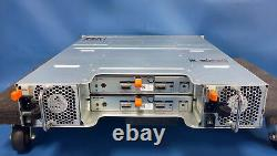 Dell PowerVault MD1200 with12x 1TB 7.2k 6GB HDDs & 2x MD12 6GB/s SAS Controller