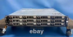 Dell PowerVault MD1200 with12x 1TB 7.2k 6GB/s HDDs & 2x MD12 6GB/s SAS Controller