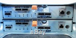 Dell PowerVault MD1220 24-Bay Storage Array 2x 3DJRJ 2xPSU 24xTray (20-3c01)
