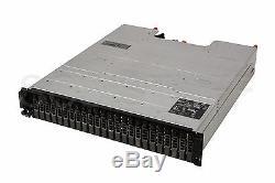Dell PowerVault MD1220 24 x 300 Gb 15K direct attach storage array 2x EMM rails