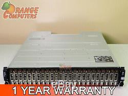 Dell PowerVault MD1220 6Gbps DAS Dual EMM 24x 600GB (14.4TB @ 10K) Storage Array