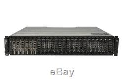 Dell PowerVault MD1220 6 x 3.84TB SSD SAS, Dell Enterprise Class HDD, Rails